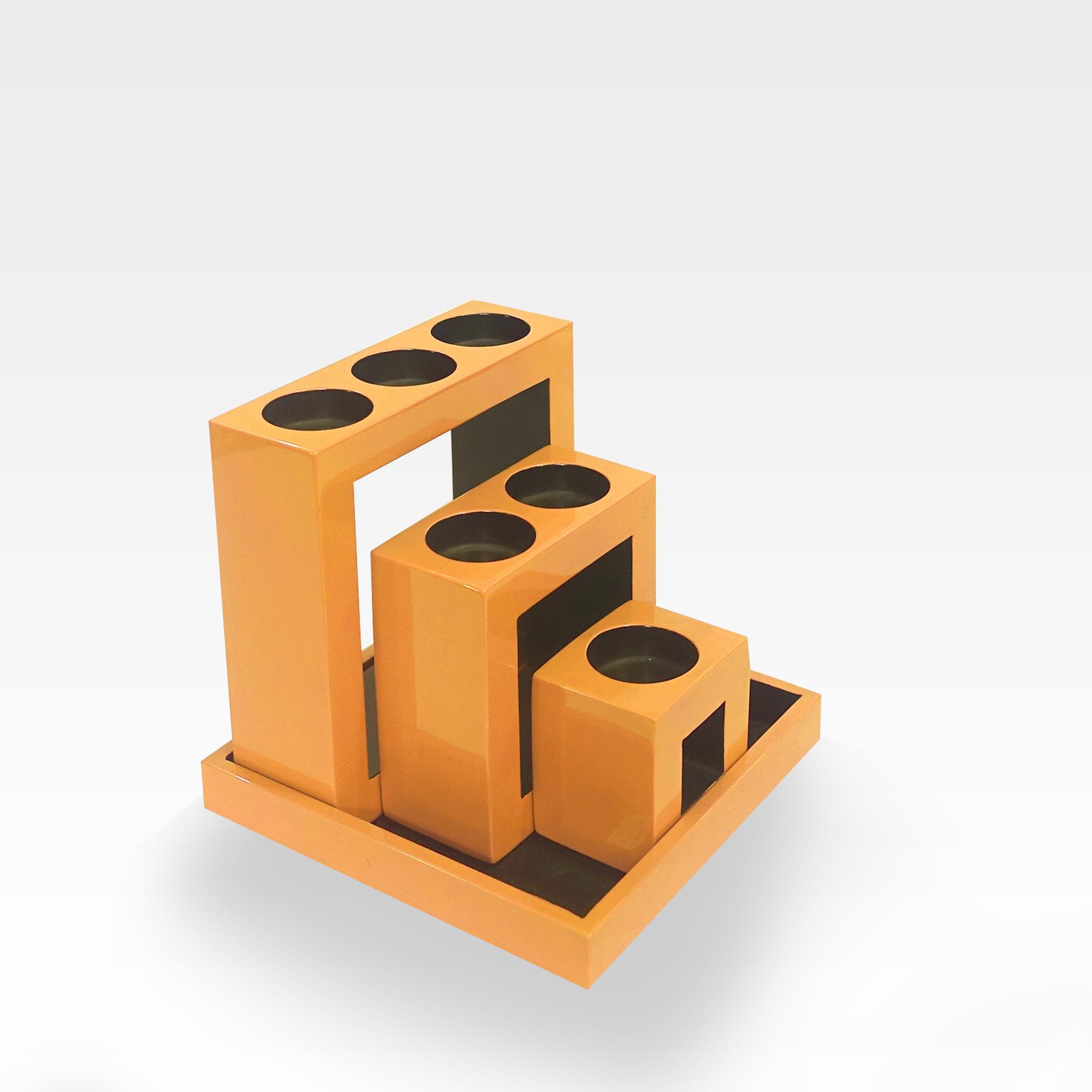 Square Candle Holder Set