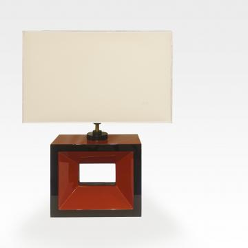 Square hole modern lamp