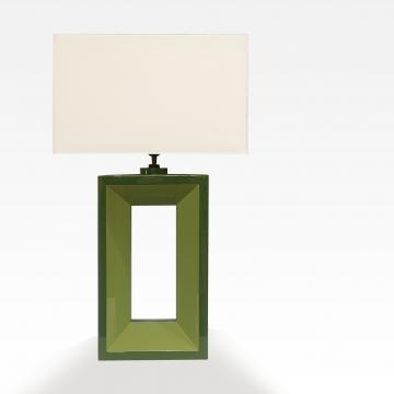 Rectangle hole modern lamp - portrait