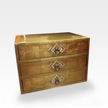 3 Drawer Jewelry Cabinet